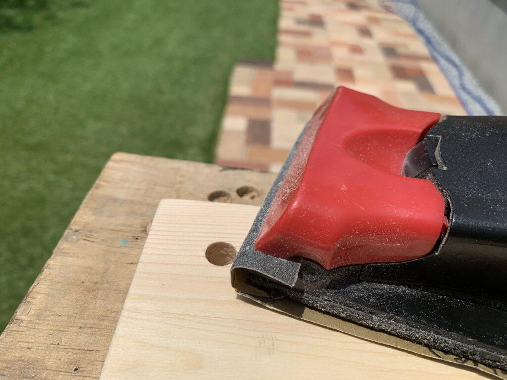 木材サンディング